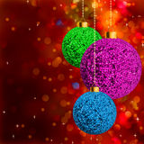 Red holiday background Royalty Free Stock Photography