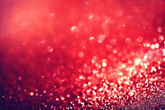 Red Holiday Blinking Background Royalty Free Stock Image