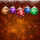 Red Holiday Xmas Greeting Card Stock Photography
