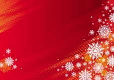 Red holidays background Stock Photography