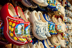 Free Red Holland Clogs Horizontal Stock Photography - 23401032