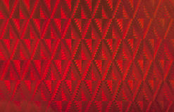Red hologram background. Red patterned holographic surface. Useful as background Stock Photo