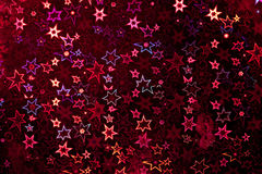 Red holographic paper Stock Photo