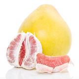 Red honey pomelo Stock Images