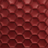 Red honeycomb background Stock Images