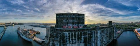 Red Hook Grain Terminal - Brooklyn, New York royalty free stock image