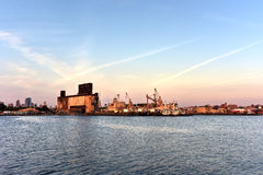 The Red Hook Grain Terminal Stock Image