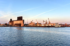 The Red Hook Grain Terminal Royalty Free Stock Images