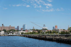 Red Hook Skyline Royalty Free Stock Image