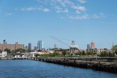 Red Hook Skyline royalty free stock image