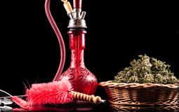 Free Red Hookah Royalty Free Stock Photography - 48030747
