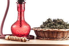 Red hookah Royalty Free Stock Photography