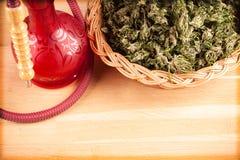 Red hookah Stock Photo