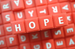 Red hope  Stock Photo