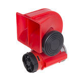 Red horn for car Royalty Free Stock Image