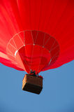 Red hot air balloon Stock Photos