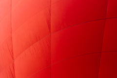 Red hot air balloon fabric Stock Photography