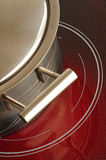 Red hot ceramic hotplate  cooker 3 Stock Photography