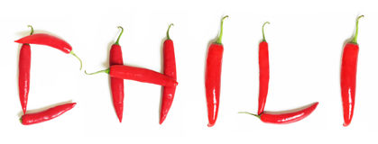 Red Hot Chili Stock Images