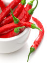 Red hot chili pepper Stock Image