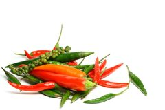 Red hot chili pepper Stock Photography