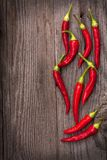 Red hot chili pepper Royalty Free Stock Photos