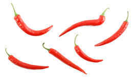 Red hot chili pepper isolated Stock Photos