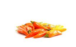 Red hot chili pepper shrink on a white background Royalty Free Stock Photo