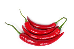 Red hot chili-peppers Royalty Free Stock Photo