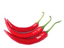 Red hot chili-peppers Stock Photos