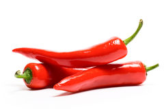 Red hot chili peppers Stock Images