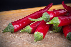 Red Hot Chili Peppers, selective focus Royalty Free Stock Photography