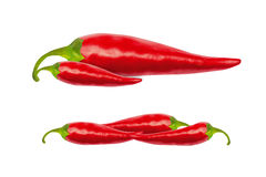 Free Red Hot Chili Peppers With Clipping Path Stock Photography - 74241322