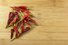 Red hot chili peppers Royalty Free Stock Photography