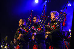 The Red Hot Chili Pipers Royalty Free Stock Photos
