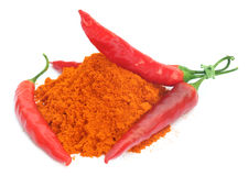 Red hot chilies Stock Photography