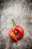 Red hot chilies Royalty Free Stock Photography