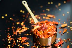 Red hot Chilli Chillies pepper Royalty Free Stock Images