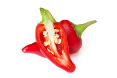 Red hot chilli pepper Royalty Free Stock Images