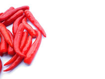 Red hot chilli pepper Royalty Free Stock Photos