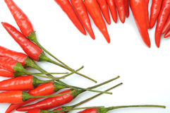 Red hot chilli peppers Stock Image