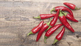 Red hot chilli peppers Stock Photos
