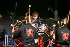 Red Hot Chilli Pipers in XANTEN Royalty Free Stock Photos