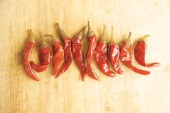 Red Hot Chillies Royalty Free Stock Photos