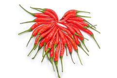 Red hot chillis Stock Photo