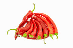 Red hot chilly peppers Stock Photo