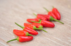 Red hot chilly peppers Royalty Free Stock Image