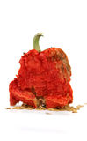 Red hot dried pepper Stock Photo
