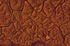 Red-hot ground texture Stock Photo