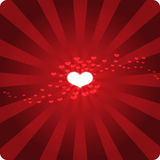 Red Hot Heart Stock Photos
